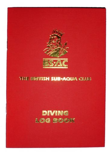 BSAC BOOK LOGBOOK <BR> MULTI DIVE
